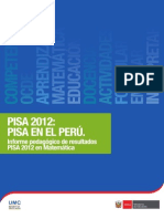 Informe Matematica Pisa 20121