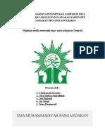 Dampak Terjadinya Penumpukan Sampah Di Desa Pananjung Kecamatan Pangandaran Kabupaten Pangandaran Provinsi Jawa Barat
