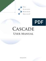 Cascade User Manual
