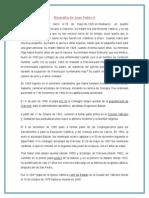 Biografia de Juan Pablo II