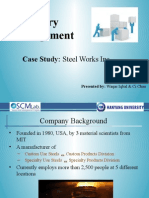 Steel Works Inc_Case Study