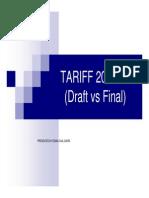 Final Tariff 2014-19 Presentattion