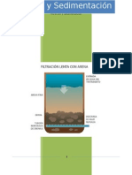 Filtración y Sedimentación