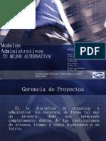 Presentacion Modelos Administrativos