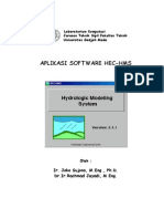 Aplikasi Software HEC-HMS
