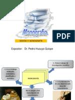 Sesión 11 Monografía