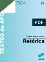 Retorica Tomas Albaladejo Mayordomo