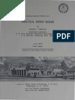 Practical Riprap Design