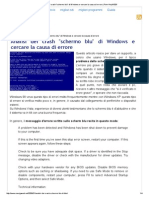 Analisi Dei Crash _schermo Blu_ Di Windows e Cercare La Causa Di Errore _ Pom-HeyWEB!