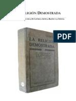 La Religión Demostrada P. A. Hillaire -1900-