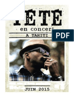 Tété en Concert à Tahiti