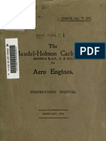Claudel Hobson Carburettor