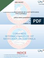 Convenios Internacionales de La Oit
