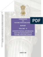 Cenre State Relaions - Volume 2