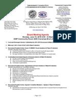 ECWANDC Board Meeting Agenda - June 15, 2015