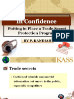 Trade Secret Wipo Smes Pnh 13 e Kandiah
