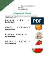 Edmodo Compoundwords Wk Sh