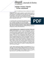 SUR - Norme Editoriali