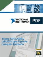 Integre MATLAB y LabVIEW Para Resolver Cualquier Aplicacion