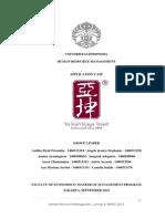 Paper Human Resource Management (Case