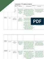 schedule & journal3