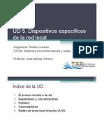 UD 5. Dispositivos Específicos de La Red