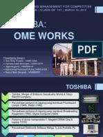 OPERATION MANAGEMENT (CASE