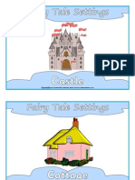 Fairy Tale Settings Sparklebox
