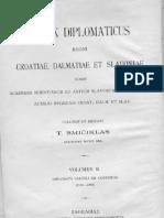 Codex Diplomatic Us II