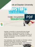 5 Schools at Daystar University
