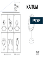 Kaitum Mirror With Integrated Lighting AA 985600 1