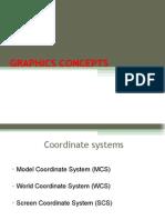 Graphics Concepts - Unit II
