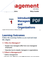 Ch1 Introduction to Managementan Organizations