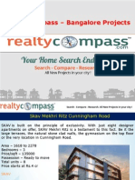 Realty Compass Trending Bangalore Projects