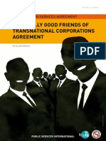 Really good friends of TNCs agreement