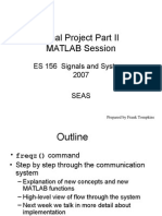 Final Project MATLAB Session 2