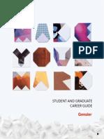 Genslers Student Graduate Career Guide 2014