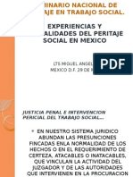 Experiencias y Actualidades en El Peritaje Social
