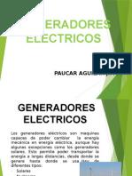 GENERADORES DE ENERGIA Y TIPOS