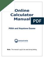Online Calculator Manual