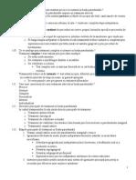 Subiecte Rezolvate Lucrare 2 Parodonto 109-303