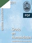 Grado Humanidades 2010-2011