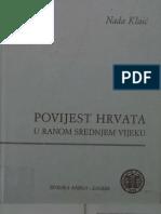 Nada Klaic Povijest Hrvata