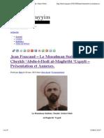 Jean Foucaud – Le Musulman Suédois, Cheykh 'Abdu-l-Hedi al-Maghribi 'Uqayli – Présentation et Annexes. | Dinul Qayyim