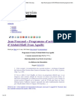 Jean Foucaud – Programme d'action d'Abdul-Hâdî (Ivan Aguéli) | Dinul Qayyim