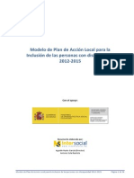 Plan Accion Local Inclusion Pcd