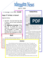 Kindergarten Newsletter April 17 (1)