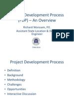 Plan Development Process-2014