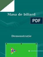 Masa de Biliard