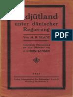 Skade 1922 Suedjuetland Unter Daenischer Regierung
